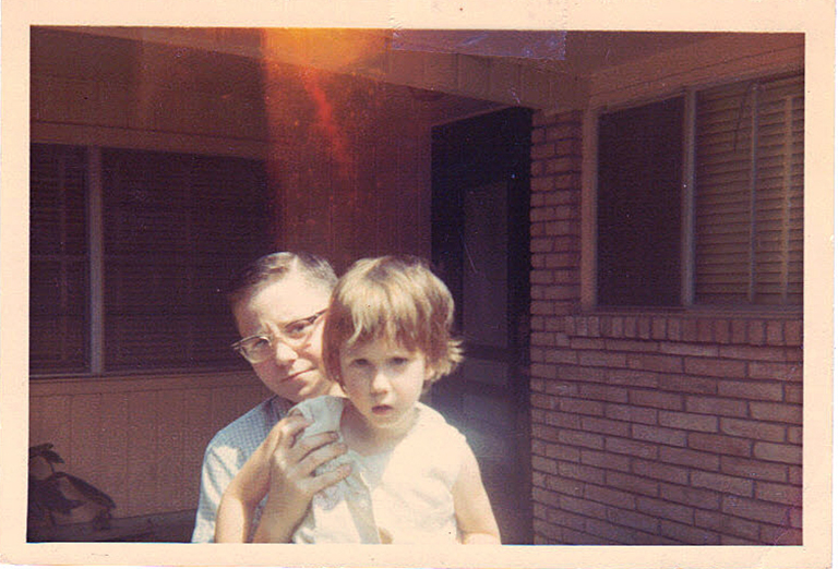 Tommy and Ann in Houson - 1967